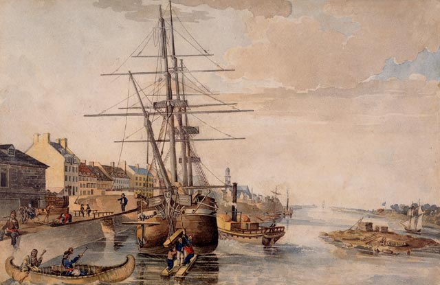Creation of the Montréal Harbour Commission
