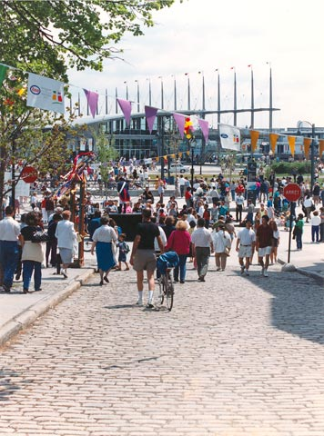 "Inauguration of the ""New Old Port of Montréal"""
