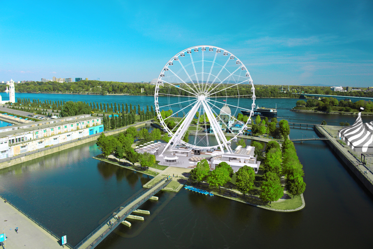 Grand Foyer And Rear Of Auditorium Of Allen Place In Montreal : The montreal observation wheel old port of montr�al