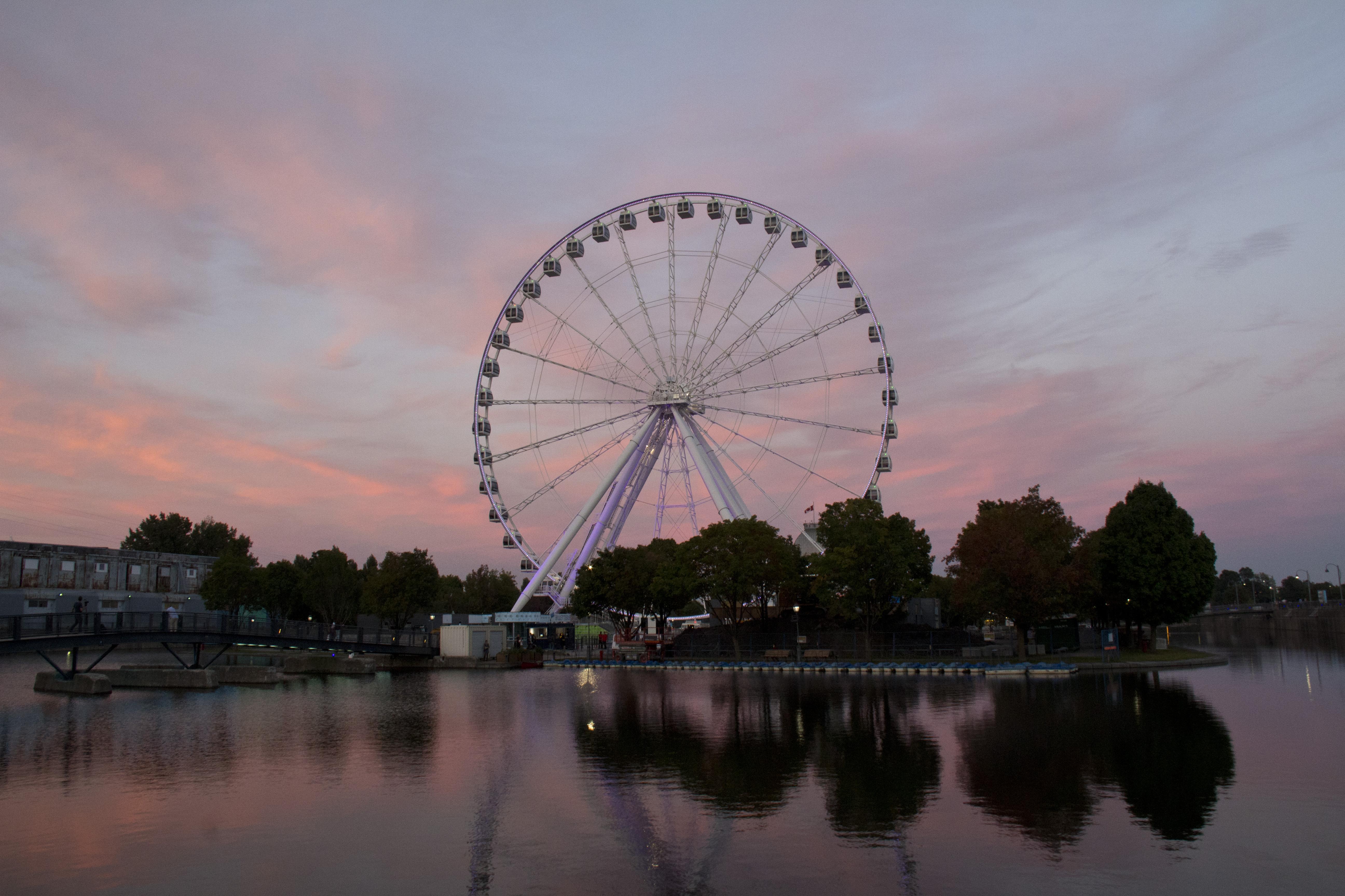 The Montreal Observation Wheel Old Port Of Montr 233 Al